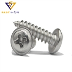DIN968 Cross Recessed Pan Head Tapping Screws With Collar